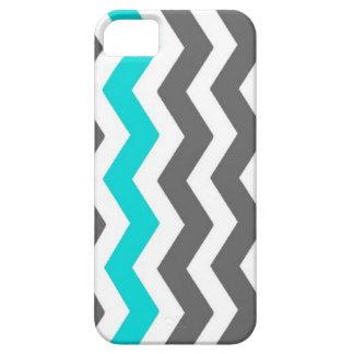 caja gris y azul clara del teléfono del modelo del funda para iPhone SE/5/5s