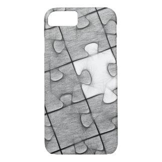 Caja gris y blanca del teléfono del modelo del funda iPhone 7