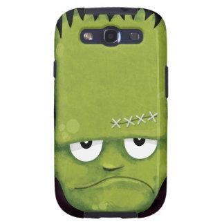 Caja gruñona de la galaxia S3 de Frankenstein Samsung Galaxy S3 Fundas