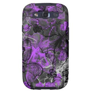 Caja hawaiana de la galaxia de Samsung del cordón Galaxy S3 Cárcasas