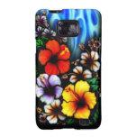 Caja hawaiana de la galaxia S de Samsung del estil Galaxy S2 Fundas