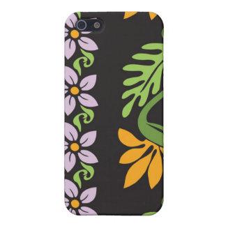 Caja hawaiana de la mota iPhone 5 funda