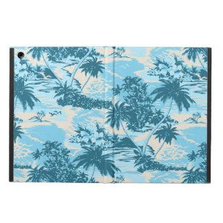 Caja hawaiana del aire del iPad del iCase de Powis