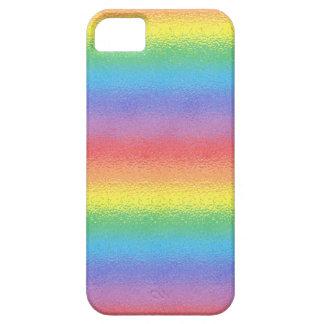 Caja helada del iPhone del arco iris iPhone 5 Carcasa