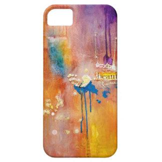 Caja hermosa abstracta del teléfono iPhone 5 cárcasas