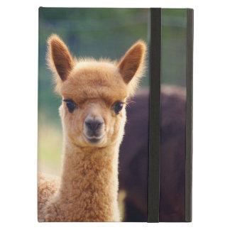 Caja hermosa del aire del iPad de la alpaca del