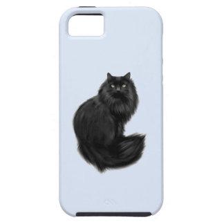 Caja hermosa del ambiente del iPhone 5 del gato ne iPhone 5 Cobertura