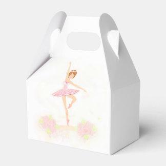 Caja hermosa del favor de la bailarina cajas para regalos
