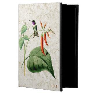 Caja hinchada blanco del aire del iPad del colibrí