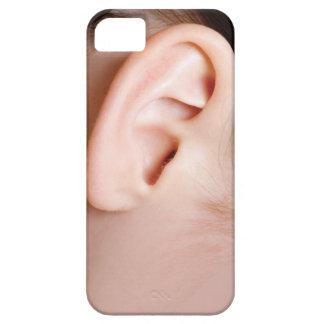 CAJA HUMANA DEL TELÉFONO DEL OÍDO iPhone 5 FUNDAS