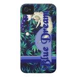 Caja ideal azul de la tensión iPhone 4 Case-Mate fundas