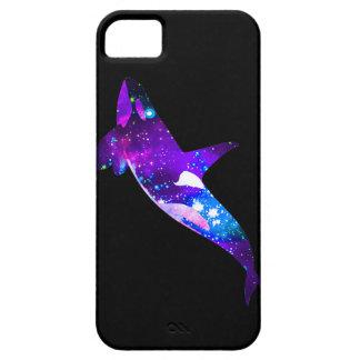 Caja ideal del teléfono de la ballena del espacio funda para iPhone SE/5/5s