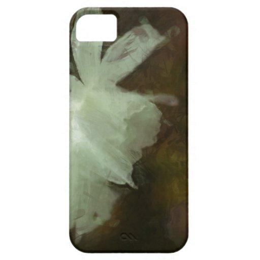 Caja impresionista del teléfono de la pintura del funda para iPhone SE/5/5s