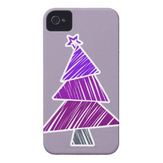 Caja incompleta púrpura del iPhone 4/4S del árbol Carcasa Para iPhone 4