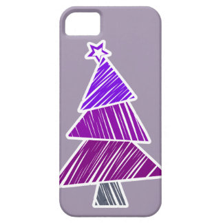 Caja incompleta púrpura del iPhone 5 del árbol de Funda Para iPhone SE/5/5s