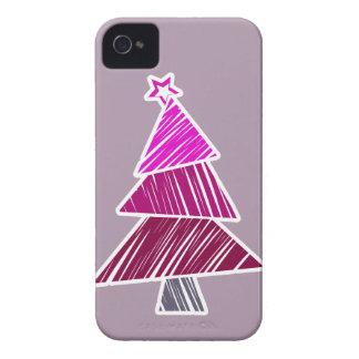 Caja incompleta rosada de Blackberry del árbol de Funda Para iPhone 4