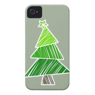 Caja incompleta verde del iPhone 4/4S del árbol de Carcasa Para iPhone 4 De Case-Mate