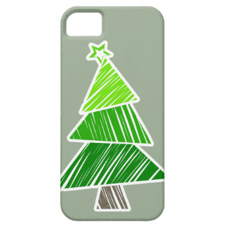 Caja incompleta verde del iPhone 5 del árbol de Funda Para iPhone SE/5/5s