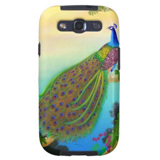 Caja india exótica de la galaxia de Samsung del pa Galaxy SIII Cárcasas