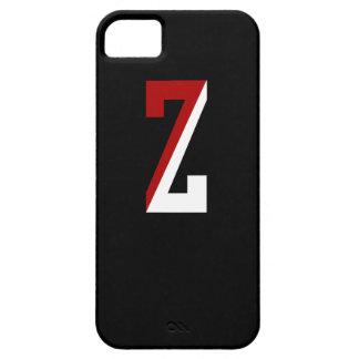 Caja inicial de encargo del teléfono del equipo Z iPhone 5 Funda