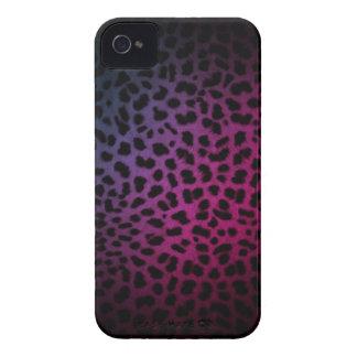 Caja inspirada oscura del iPhone del estampado leo Case-Mate iPhone 4 Funda