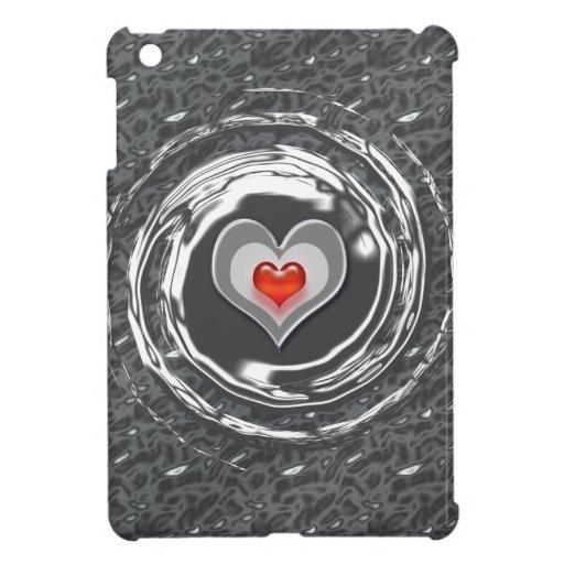 Caja interminable del Yo-Cojín del amor iPad Mini Fundas