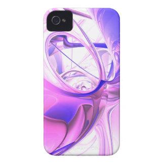 Caja intrépida abstracta de Blackberry de los Case-Mate iPhone 4 Cárcasa