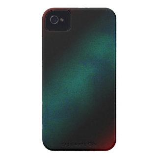 Caja intrépida acodada rojo negro verde de iPhone 4 Case-Mate coberturas