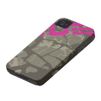 Caja intrépida apenada grunge fresco de la iPhone 4 Case-Mate carcasa