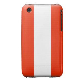 Caja intrépida de Blackberry de la bandera de iPhone 3 Case-Mate Protector
