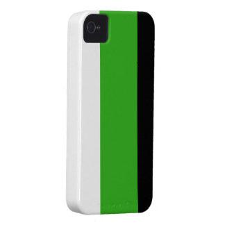 Caja intrépida de Blackberry de la bandera de iPhone 4 Case-Mate Cárcasas