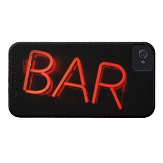 Caja intrépida de Blackberry de la barra iPhone 4 Case-Mate Carcasas