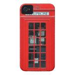 Caja intrépida de Blackberry de la cabina de teléf iPhone 4 Coberturas