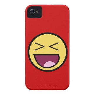 Caja intrépida de Blackberry de la cara Funda Para iPhone 4 De Case-Mate
