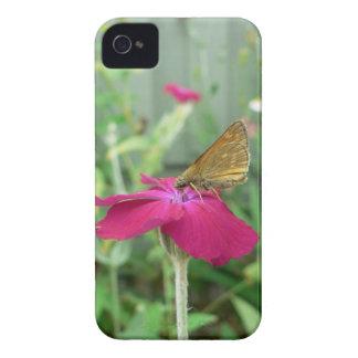 Caja intrépida de Blackberry de la mariposa iPhone 4 Cobertura