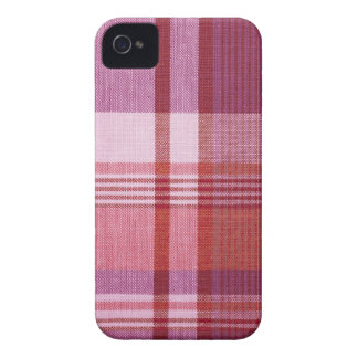 "Caja intrépida de Blackberry de la ""tela escocesa Carcasa Para iPhone 4 De Case-Mate"