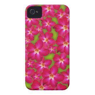 Caja intrépida de Blackberry del collage del rosa Case-Mate iPhone 4 Protectores