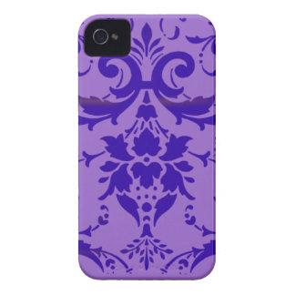 Caja intrépida de Blackberry del modelo púrpura iPhone 4 Cobertura