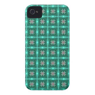 Caja intrépida de Blackberry del modelo verde Case-Mate iPhone 4 Fundas