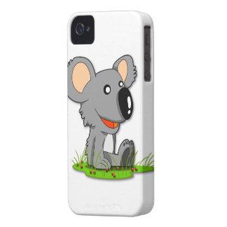 Caja intrépida de Blackberry del oso de koala Case-Mate iPhone 4 Cobertura