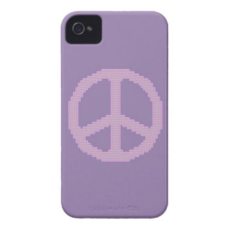 Caja intrépida de Blackberry del signo de la paz