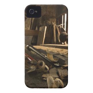 Caja intrépida de Blackberry del taller de los iPhone 4 Funda