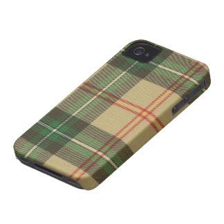 Caja intrépida de Blackberry del tartán de iPhone 4 Case-Mate Protector