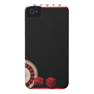 Caja intrépida de Blackberry Case-Mate iPhone 4 Cobertura