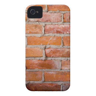 Caja intrépida de Blackberry - pared de ladrillo Case-Mate iPhone 4 Carcasa