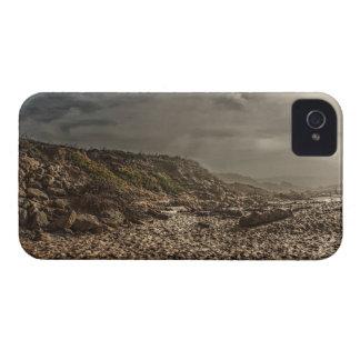 Caja intrépida de la galaxia de la arena y del cie iPhone 4 carcasa