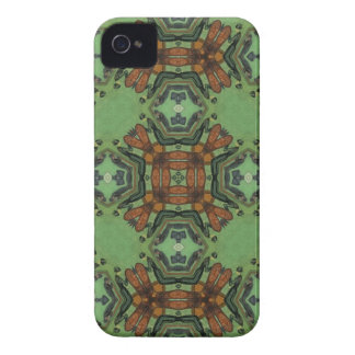Caja intrépida de la zarzamora abstracta del funda para iPhone 4 de Case-Mate