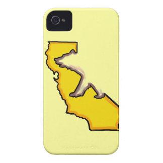 Caja intrépida de la zarzamora del símbolo de funda para iPhone 4 de Case-Mate