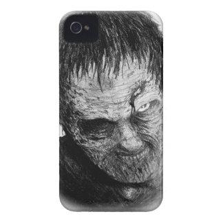 caja intrépida de la zarzamora del zombi funda para iPhone 4 de Case-Mate
