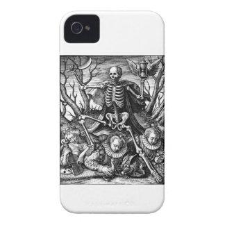 Caja intrépida de la zarzamora triunfante de la funda para iPhone 4